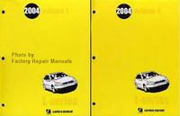 2004 Saturn L300 Factory Service Manual 2 Volume Set Original Shop Repair