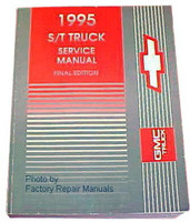 1995 Chevy S10 Truck & Blazer, GMC S15 Sonoma & Jimmy Shop Service Manual