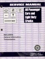 2005 GM Car & Truck Transmission, Transaxle & Transfer Case Unit Repair Shop Manual Set