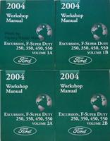 2004 Ford F250 F350 F450 F550 Super Duty Truck & Excursion Factory WorkShop Manual