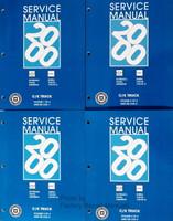 2000 GMC Sierra Yukon Chevy Silverado Tahoe Suburban Service Repair Manual Set