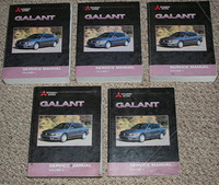 2003 MITSUBISHI GALANT Factory Service Manual Dealer Shop Repair 5 Volume Set 03