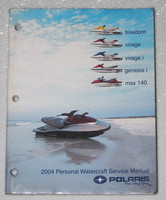 2004 POLARIS WaterCraft Freedom Virage Genesis MSX 140 Service Manual PWC Repair