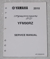 2010 YAMAHA RAPTOR 90 ATV Service Manual YFM90RZ Factory Shop Repair YFM 90RZW