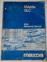 1978 MAZDA GLC Factory Service Manual DX Sport Hatchback OEM Dealer Shop Repair