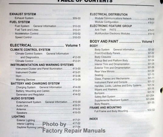 2006 ford ranger factory service manual set original shop. Black Bedroom Furniture Sets. Home Design Ideas