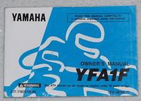 1994 YAMAHA BREEZE YFA1 Moto-4 ATV Original Owners Manual YFA1F LIT-11626-08-80