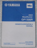 2004 YAMAHA Wave Runner GP1300R Owners Manual GP 1300 R GP1300-C Original Dealer