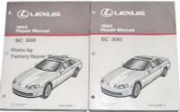 Lexus 1993 Repair Manual SC 300 Volume 1, 2
