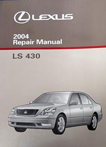 2004 lexus ls430 original factory shop service repair manual 3 volume set ls 430 factory 04 Lexus LS430 03 Lexus LS430