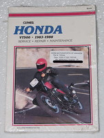 1983 1988 HONDA VT500 Clymer Repair Manual VT 500 FT/C/E Ascot Shadow Euro Sport