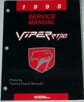 1995 Dodge Viper RT/10 Factory Shop Service Manual