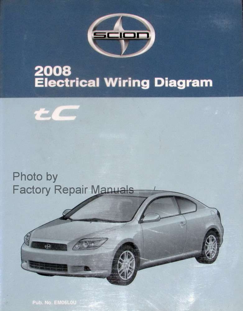 2008 Scion Tc Electrical Wiring Diagrams Original Toyota