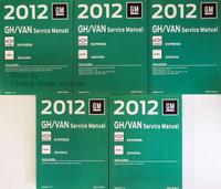 2012 Chevy Express & GMC Savana Van Factory Service Manuals