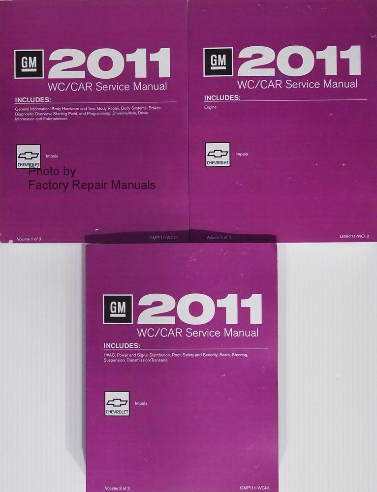 2011 Chevy Impala Service Manual Original Shop Repair ... | 766 x 1000 jpeg 181kB