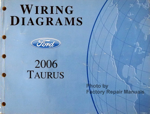 2006 2007 Ford Taurus Electrical Wiring Diagrams Manual
