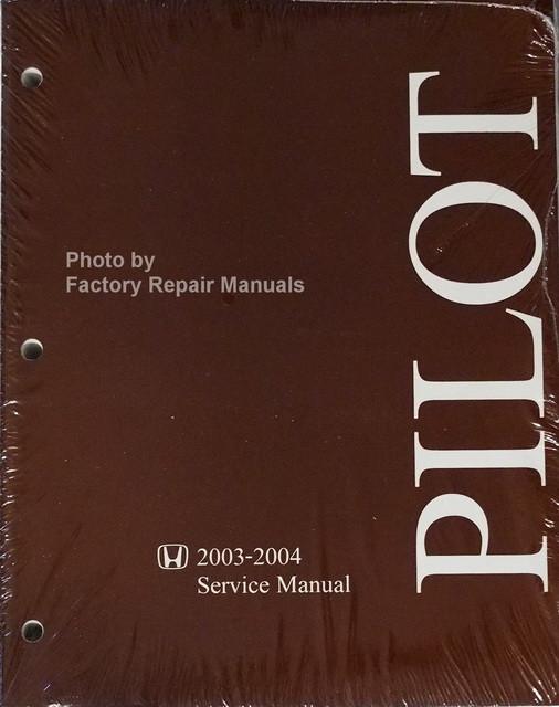 honda pilot factory service manual