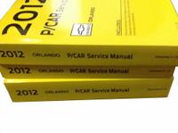 2012 Chevrolet Orlando Service Manuals