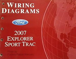 2007    Ford    Explorer    Sport       Trac    Electrical Wiring    Diagrams    Manual  Factory Repair Manuals