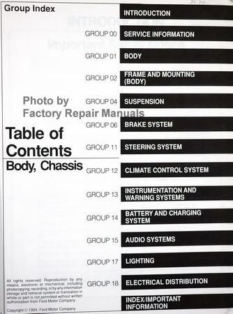 ford econoline van wagon    factory shop service manual set factory repair