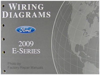 2009 Ford Econoline Van & Club Wagon Electrical Wiring Diagrams