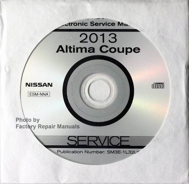 2013 Nissan Altima Coupe Factory Service Manual Cd Manual Guide