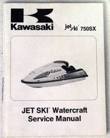 1992 1993 KAWASAKI JET SKI 750SX Service Manual JS750-A1 JS750-A2 Factory Repair