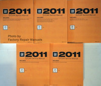 2011 D/Car Service Manual Cadillac CTS Volumes 1, 2, 3, 4, 5