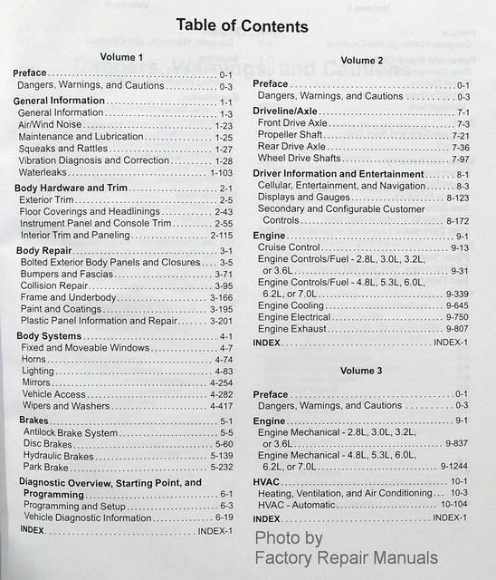 2012 Cadillac CTS, CTS-V Factory Shop Service Repair Manual 5 Volume Set - Factory Repair Manuals