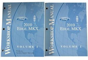 Ford Lincoln 2010 Edge, MKX Workshop Manual Volume 1, 2