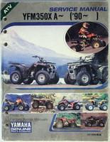 1990 1997 YAMAHA WARRIOR 350 ATV YFM350X Service Repair Manual 91 92 93 94 95 96