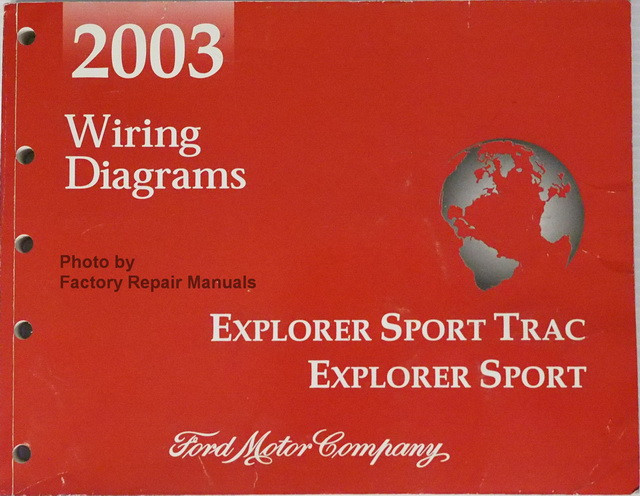 2003 Ford Explorer Sport Trac And Explorer Sport Electrical Wiring Diagrams Manual