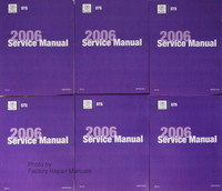 Cadillac CTS 2006 Service Manual Volume 1, 2, 3