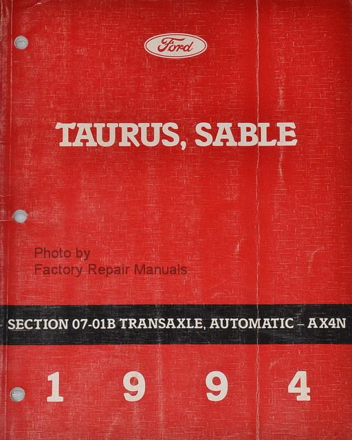 1999 ford taurus repair manual pdf