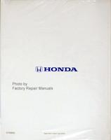 2002-2004 Honda CR-V Service Manual Reprint