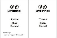 2008 Hyundai Tucson Factory Shop Manual Set - New Factory Reprint
