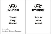 2008 Hyundai Tucson Factory Shop Manual Set - New Factory Reprint
