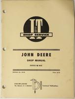 John Deere 6030 Series Tractor I & T Shop Manual Pub No. JD-38 Service Repair