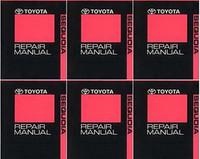 2011 Toyota Sequoia Factory Repair Manual 6 Volume Set - Original Shop Service