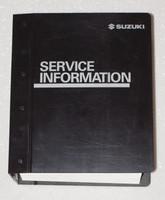 2007 Suzuki Aerio Factory Service Manual - RW423 Original Shop Repair