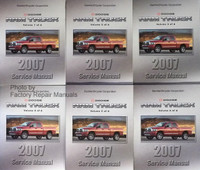 Dodge Ram Truck 2007 Service Manual Volumes 1 through 6