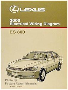 2000 Lexus ES300 Electrical Wiring Diagrams - Original ES ...