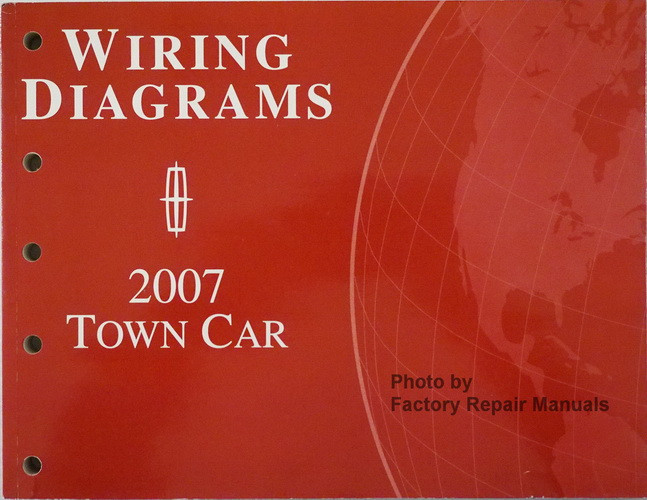 2007 lincoln town car electrical wiring diagrams original. Black Bedroom Furniture Sets. Home Design Ideas
