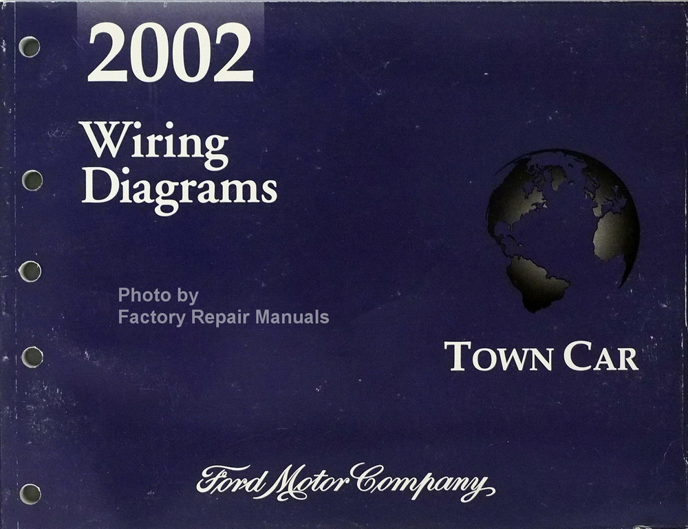 2002 Lincoln Town Car Electrical Wiring Diagrams