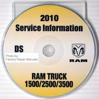 2010 Service Information DS Dodge Ram Truck 1500/2500/3500