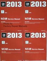 GM 2013 Cadillac SRX N/Car Service Manual Volume 1, 2, 3, 4