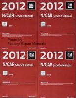 2012 GM N/Car Cadillac SRX Service Manual Volume 1, 2, 3, 4