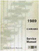 1989 Chevy Camaro Service Manual