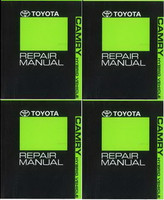 2011 Toyota Camry Hybrid Factory Service Manual 4 Volume Set Original Shop Repair