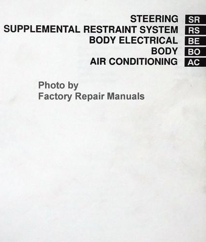 1997 Toyota Camry Factory Service Manual Set Original Shop